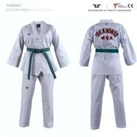 Uniform White V-Neck